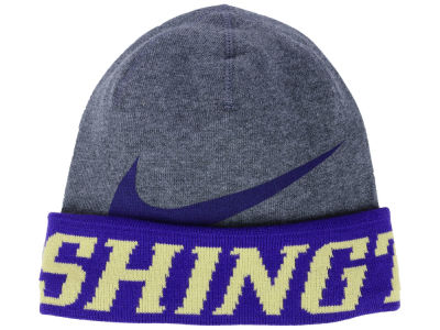 Washington Huskies Nike NCAA Training Beanie Knit