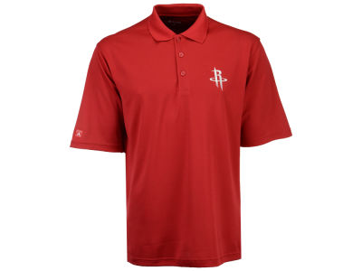 Houston Rockets Antigua NBA Pique Xtra-Lite Polo