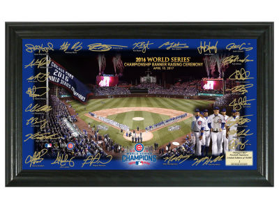 Chicago Cubs Team Signature Field