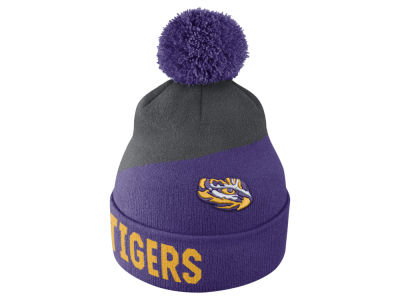 LSU Tigers Nike NCAA Champ Pom Knit