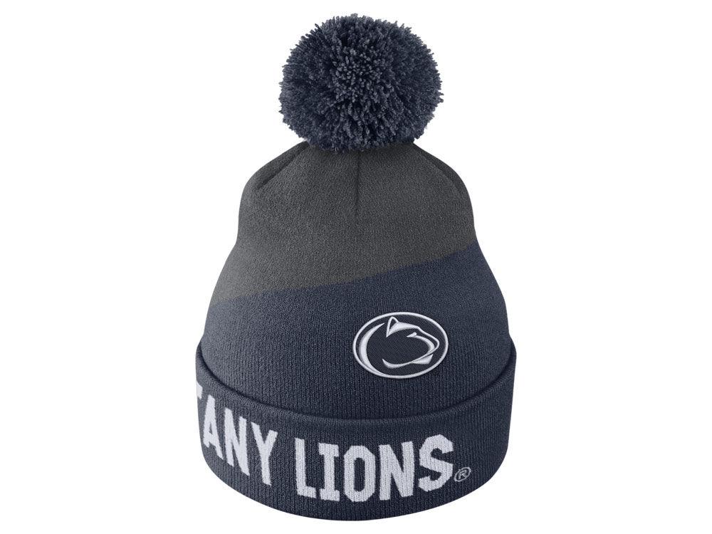 Penn State Nittany Lions Nike NCAA Champ Pom Knit  9832a3bfdd7