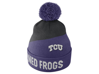 Texas Christian Horned Frogs Nike NCAA Champ Pom Knit