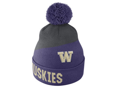 Washington Huskies Nike NCAA Champ Pom Knit