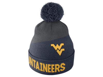 West Virginia Mountaineers Nike NCAA Champ Pom Knit