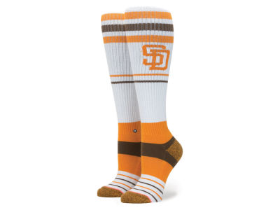 San Diego Padres Stance MLB Women's Tall Boot Socks