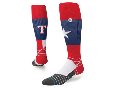 Texas Rangers Stance MLB Diamond Pro Team Socks