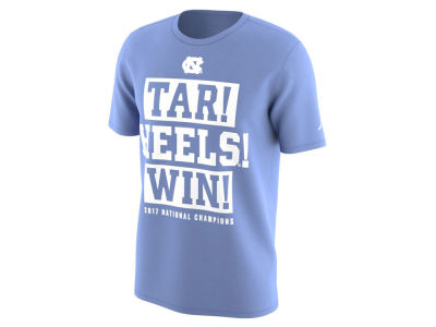 North Carolina Tar Heels Jordan 2017 NCAA Men's National Champ Winner T-Shirt