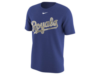 Kansas City Royals MLB Men's Memorial Camo Pack T-shirt