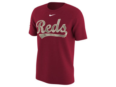Cincinnati Reds MLB Men's Memorial Camo Pack T-shirt
