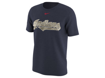 Cleveland Indians MLB Men's Memorial Camo Pack T-shirt