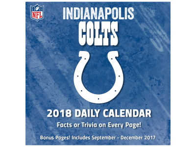 Indianapolis Colts Box Calendar