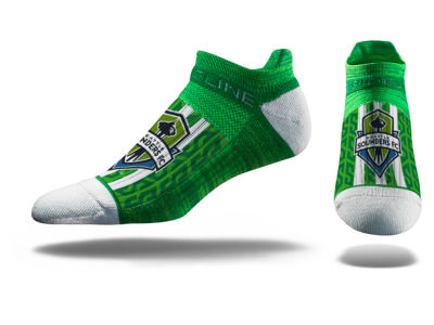 Seattle Sounders FC Strideline MLS No Show Socks