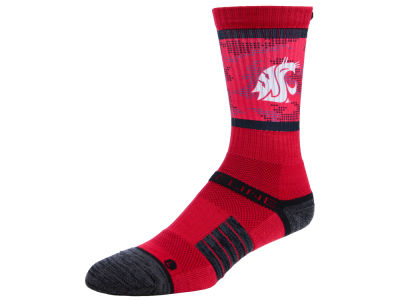 Washington State Cougars Strideline NCAA Strideline Crew Socks