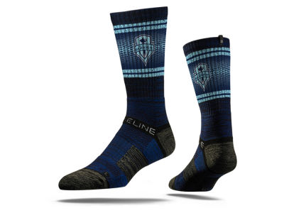 Seattle Sounders FC Strideline MLS Strideline Vivicolor Crew Socks
