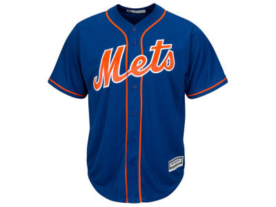 New York Mets MLB Men's Blank Replica Cool Base Big & Tall Jersey