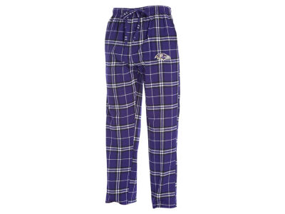 Baltimore Ravens Concept Sports NFL Men's Huddle Flannel Sleep Pant