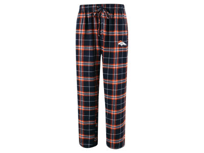 Denver Broncos Concept Sports NFL Men's Huddle Flannel Sleep Pant
