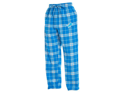 Detroit Lions Concept Sports NFL Men's Huddle Flannel Sleep Pant