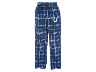 Indianapolis Colts Concept Sports NFL Men's Huddle Flannel Sleep Pant