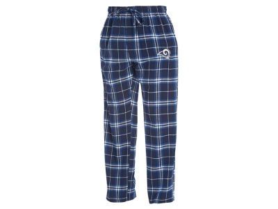 Los Angeles Rams Concept Sports NFL Men's Huddle Flannel Sleep Pant