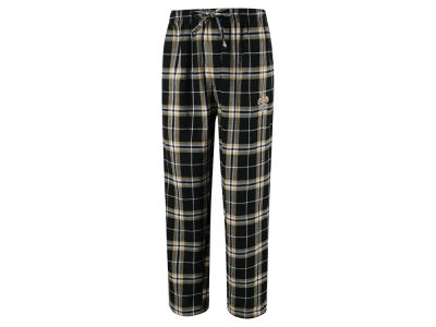 New Orleans Saints Concept Sports NFL Men's Huddle Flannel Sleep Pant