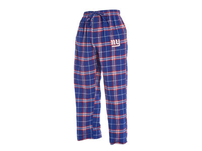 New York Giants Concept Sports NFL Men's Huddle Flannel Sleep Pant