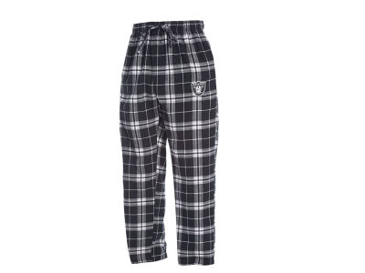 Oakland Raiders Concept Sports NFL Men's Huddle Flannel Sleep Pant