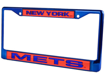 New York Mets Chrome Frame
