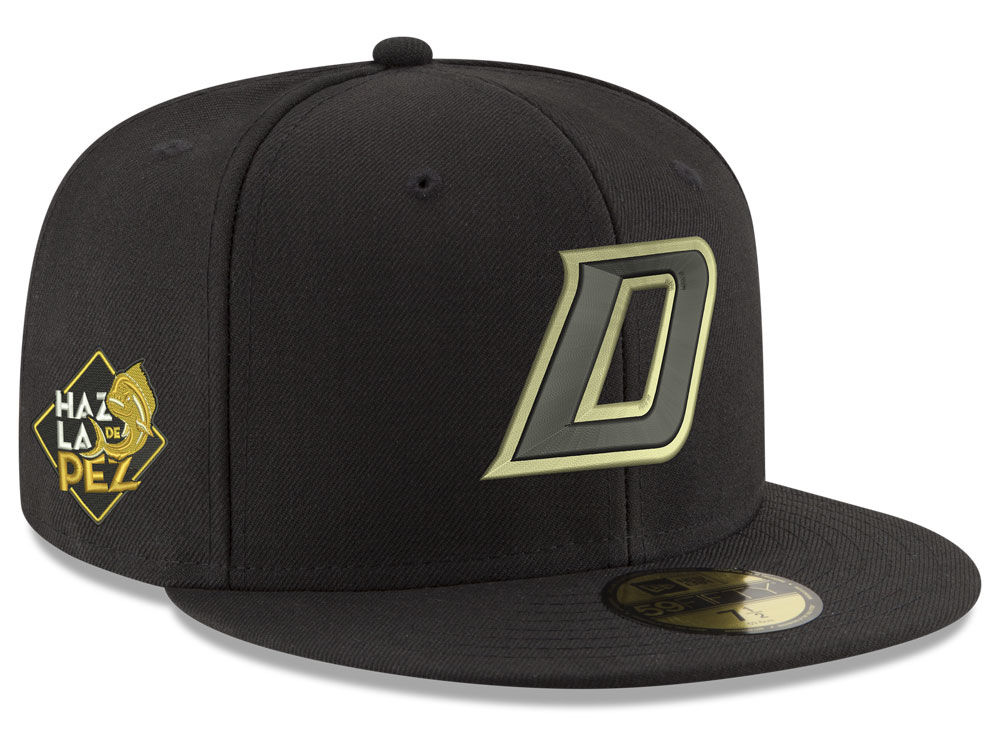 Dorados de Sinaloa New Era Liga MX 59FIFTY Cap  2be0567bebf