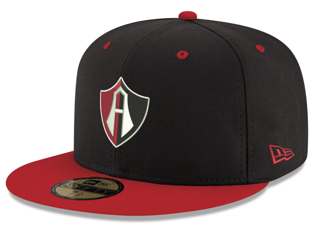 Atlas FC New Era Liga MX 59FIFTY Cap  98c5ce7e889