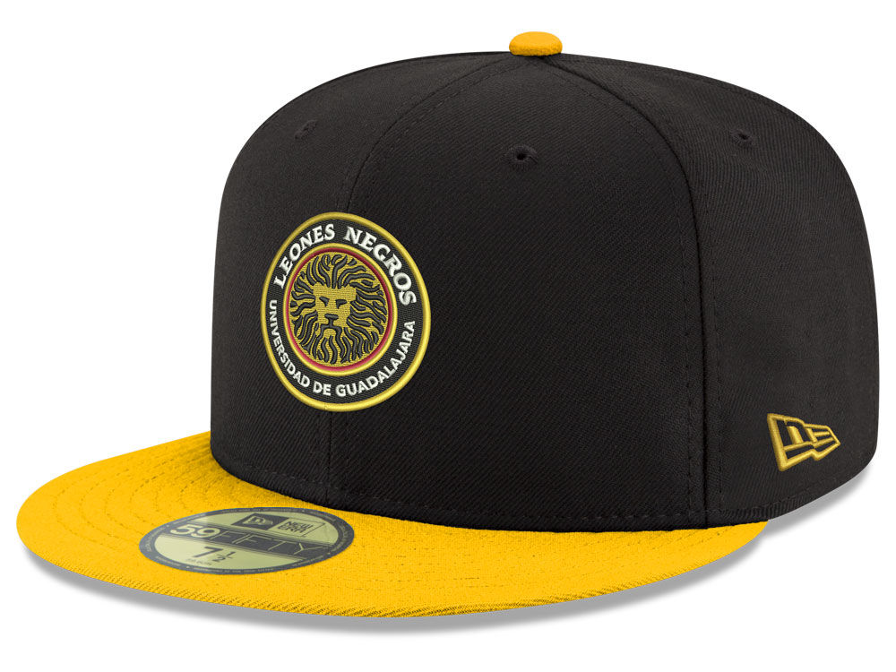 Leones Negros New Era Liga MX 59FIFTY Cap  661880ea38a7