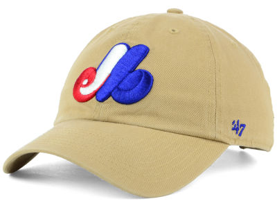 Montreal Expos '47 MLB Khaki '47 CLEAN UP Cap