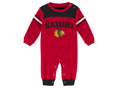 Chicago Blackhawks Outerstuff NHL Newborn Penalty Box Coverall