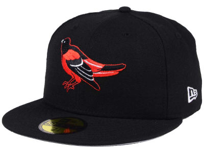 Baltimore Orioles New Era MLB Black Cooperstown 59FIFTY Cap