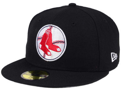 Boston Red Sox New Era MLB Black Cooperstown 59FIFTY Cap