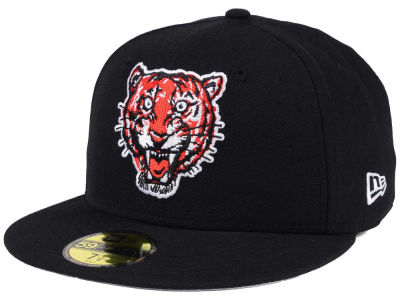 Detroit Tigers New Era MLB Black Cooperstown 59FIFTY Cap