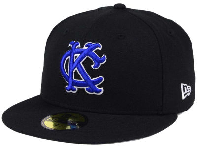 Kansas City Royals New Era MLB Black Cooperstown 59FIFTY Cap