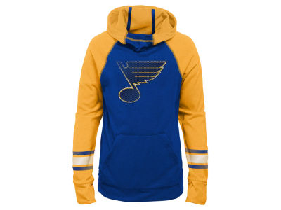 St. Louis Blues Outerstuff NHL Youth Girls Funnel Hoodie