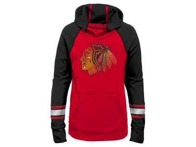 Chicago Blackhawks Outerstuff NHL Youth Girls Funnel Hoodie