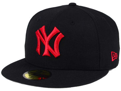New York Yankees New Era MLB Black Cooperstown 59FIFTY Cap