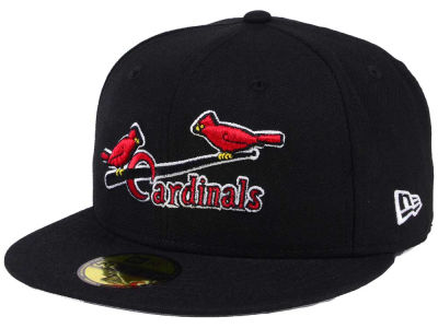 St. Louis Cardinals New Era MLB Black Cooperstown 59FIFTY Cap