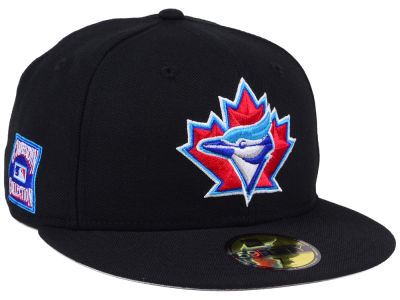 Toronto Blue Jays New Era MLB Black Cooperstown 59FIFTY Cap