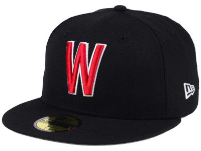 Washington Nationals New Era MLB Black Cooperstown 59FIFTY Cap