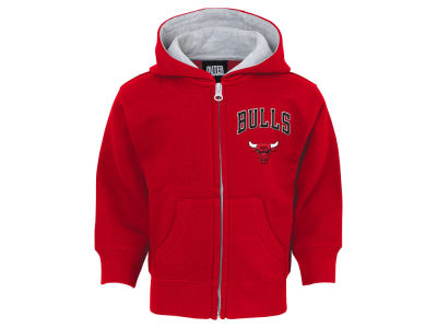 Chicago Bulls Outerstuff NBA Toddler Pledge Full Zip Hoodie