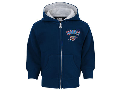Oklahoma City Thunder Outerstuff NBA Toddler Pledge Full Zip Hoodie