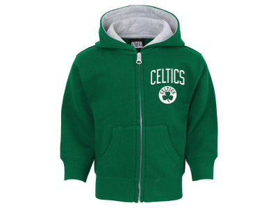 Boston Celtics Outerstuff NBA Toddler Pledge Full Zip Hoodie
