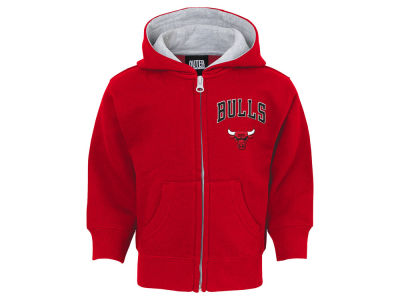 Chicago Bulls Outerstuff NBA Infant Pledge Full Zip Hoodie