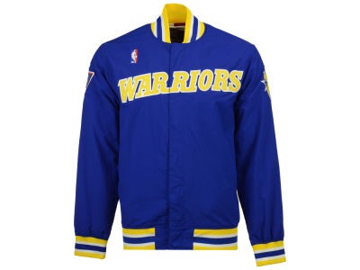 Golden State Warriors Mitchell & Ness NBA Men's Authentic Warm Up Jackets