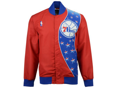 Philadelphia 76ers Mitchell & Ness NBA Men's Authentic Warm Up Jackets