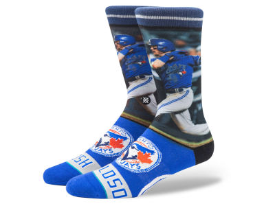 Toronto Blue Jays Josh Donaldson Stance MLB Player Crew Socks
